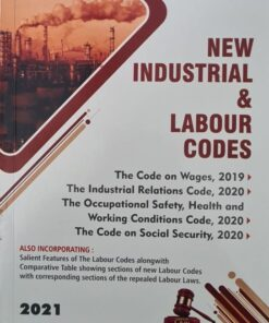 LPH's New Industrial & Labour Codes by V.K. Kharbanda - 1st Edition 2021