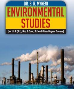 ALH's Environmental Studies by Dr. S.R. Myneni - 2nd Edition 2019