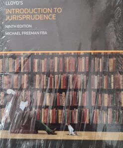 Sweet & Maxwell's Introduction to Jurisprudence by Lloyd - 9th South Asian Edition