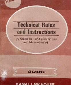 KLH's Technical Rules and Instructions (Land Survey and Land Measurement)