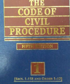 KLH's The Code of Civil Procedure (2 Volumes) by Justice Nandi - 5th Edition 2018