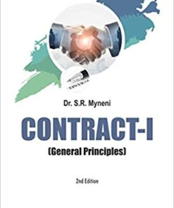 ALH's Contract I (General Principles) by Dr. S.R. Myneni - 2nd Edition 2020