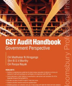 Bloomsbury's GST Audit Handbook - Government Perspective by Madhukar N.Hiregange - 1st Edition January 2021