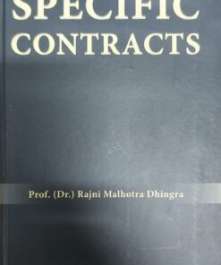 Thomson's Specific Contracts by Rajni Malhotra Dhingra - 1st Edition 2021